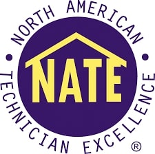 The North American Technician Excellence badge