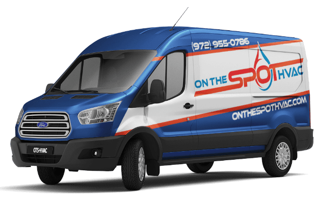 on the spot hvac van